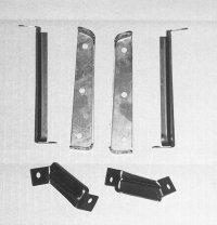 1966 Grille Mounting Bracket Kit